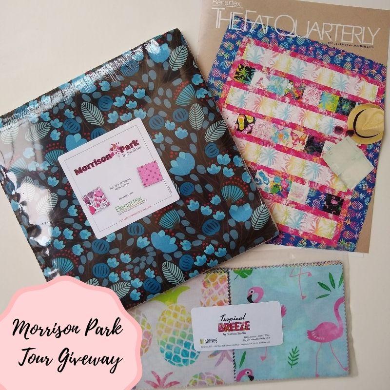 Morrison Parks Fabrics Giveaway