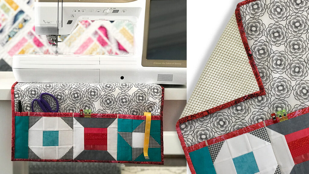 Protect your surface and join Heather Valentine in class to learn to to make this sewing machine mat.