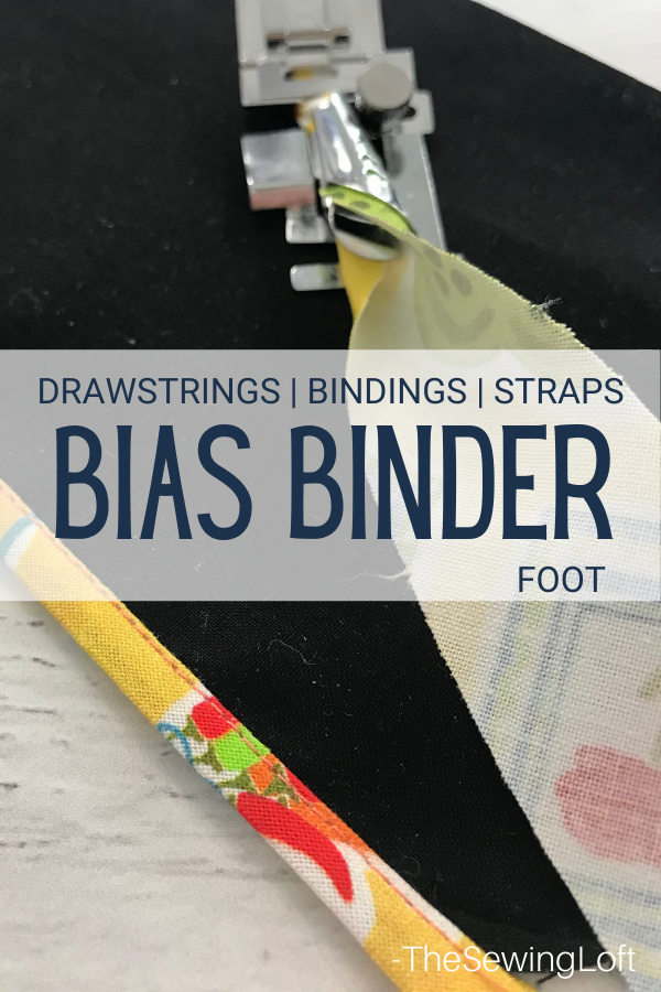 Add decorative binding and custom drawstring details to your projects with ease by using the bias binder foot. A sewing accessory must have tool! Learn to sew with this free video class.