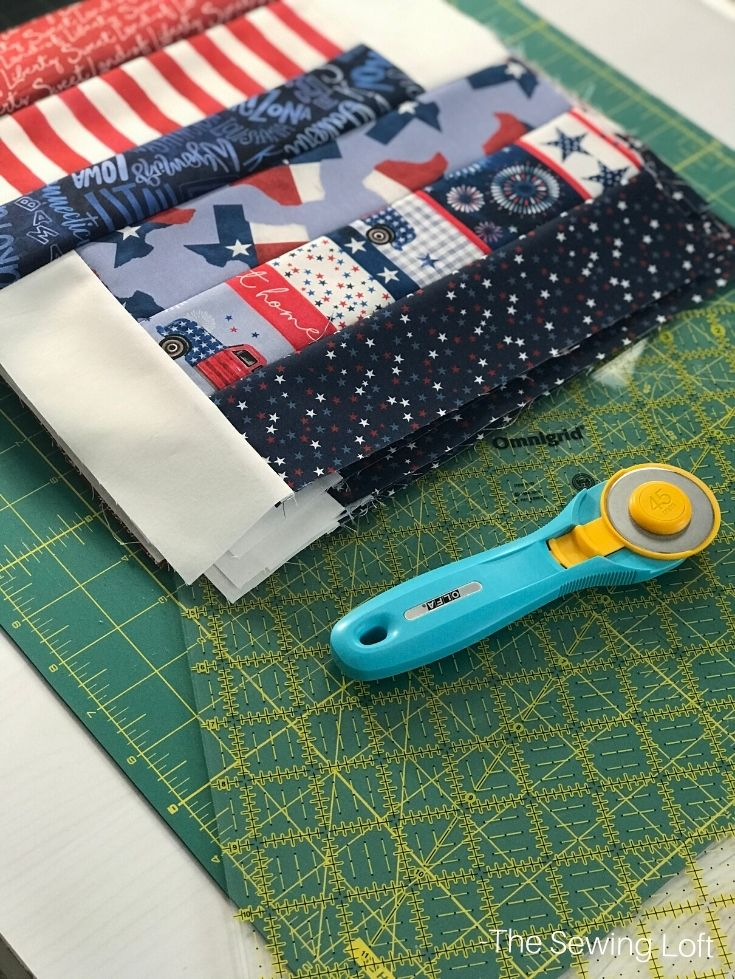 Rails & Ribbons quilt blocks stitch together fast! Download the free pattern today.