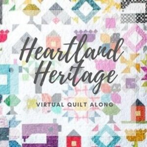 Explore your scraps in a brand new way with The Sewing Loft. Join us for the Heartland Heritage Virtual Quilt Along.