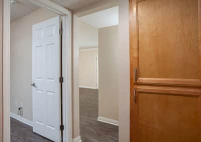 View of bedroom and closet space