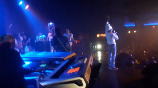 Sizzla Live Band On Stage Reggae
