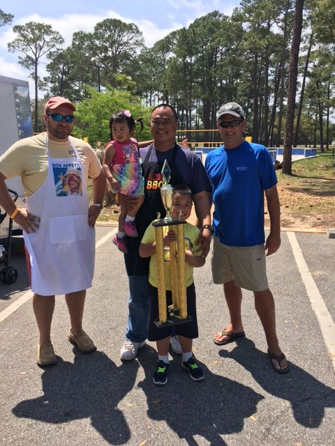 victor bbq 2nd place pro division