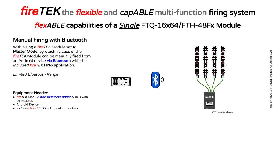 firetek single module with bluetooth