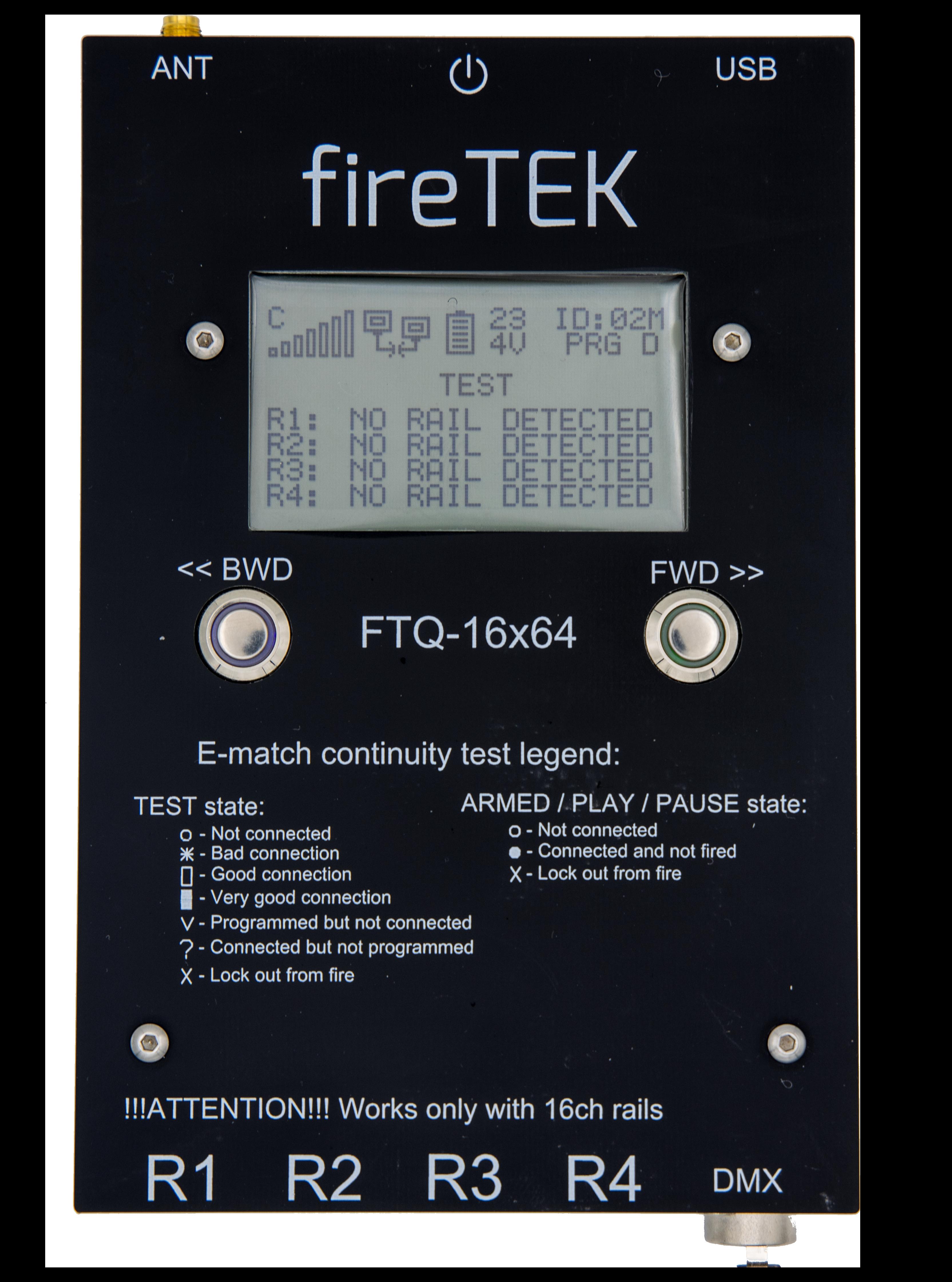 fireTEK pro firing kit