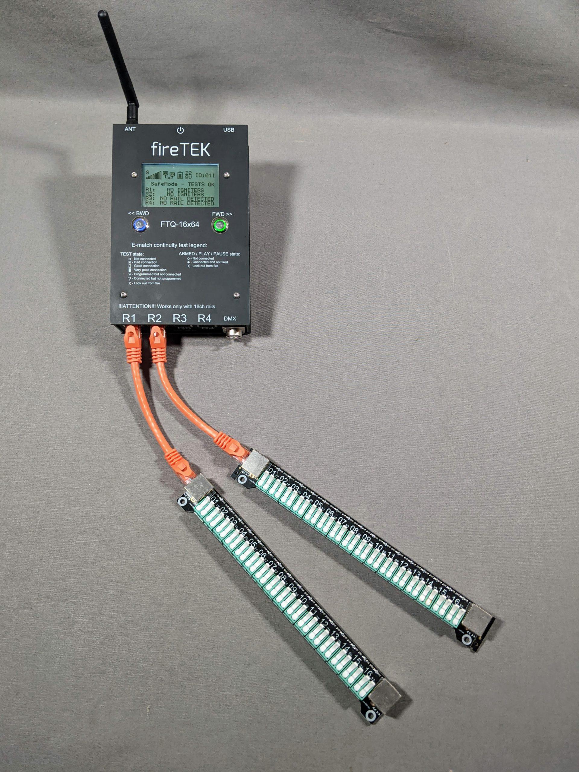 fireTEK 32 Channel basic module