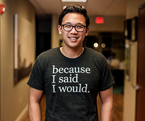 "Alex Sheen, Founder of ""because I said I would"" Movement"