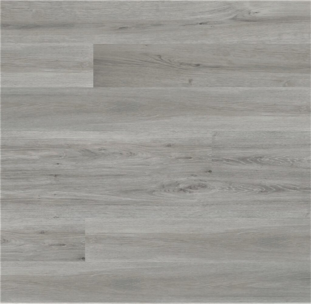 Atwood light modern grey 12mm laminate flooring. Easy collections.