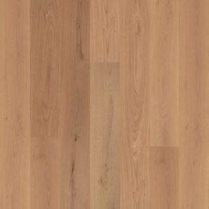 Natural oak wood engineered flooring