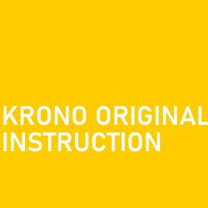 Krono Original Laminate flooring instructions