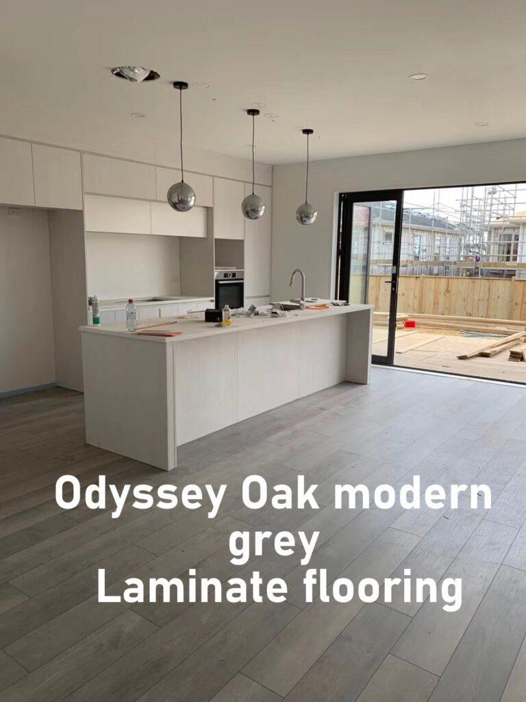 Krono Odyssey Oak modern gray Laminate flooring