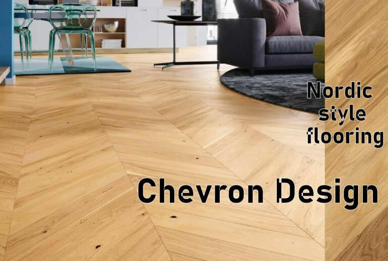 Chevron style design wood flooring ,wall, carpet and Fabrics