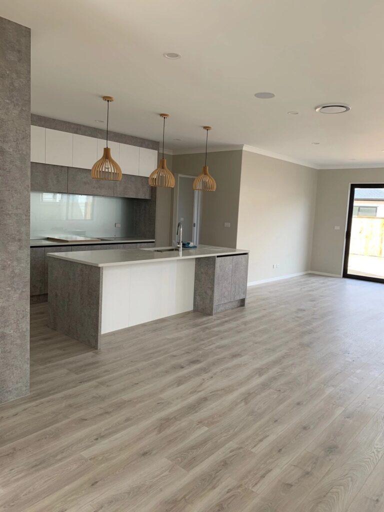 Pretty modern krono original grey laminate flooring Auckland