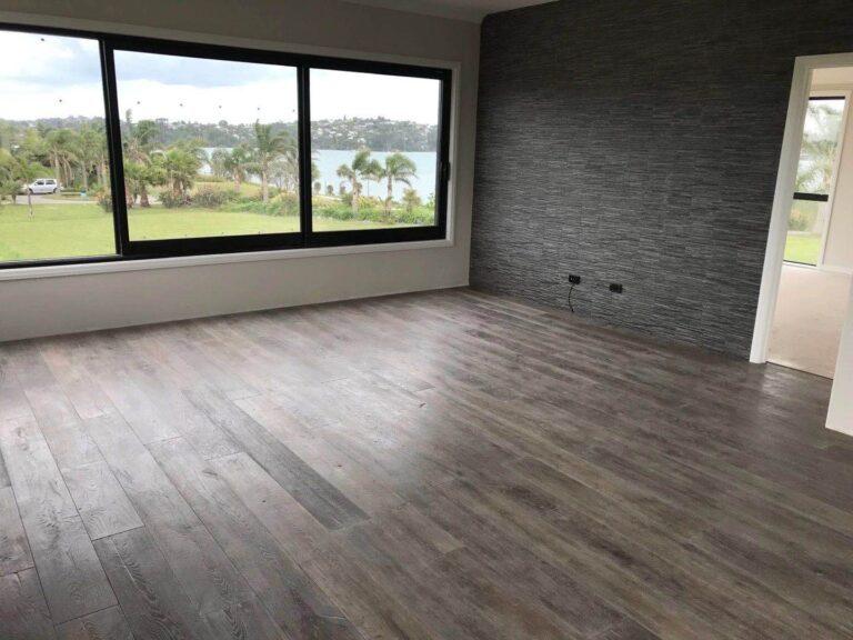 Smoked hardwood flooring is popular of world