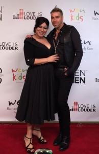 Elena Ruiz with Chaz Dean