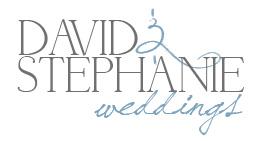 David & Stephanie Weddings logo