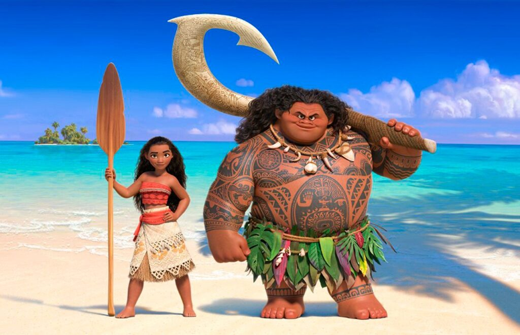 Moana - Top 10 stand alone animated movies since Y2K