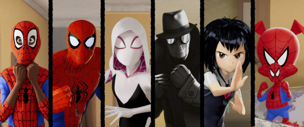 Spider-man: Into the Spider-Verse - Top 10 stand alone animated movies since Y2K