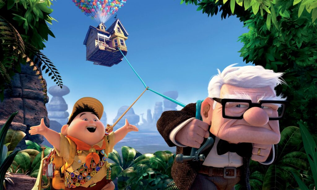 Up - Top animated movies since Y2K
