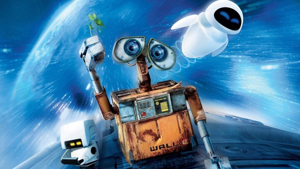 Wall-E - Best animated movies since Y2K