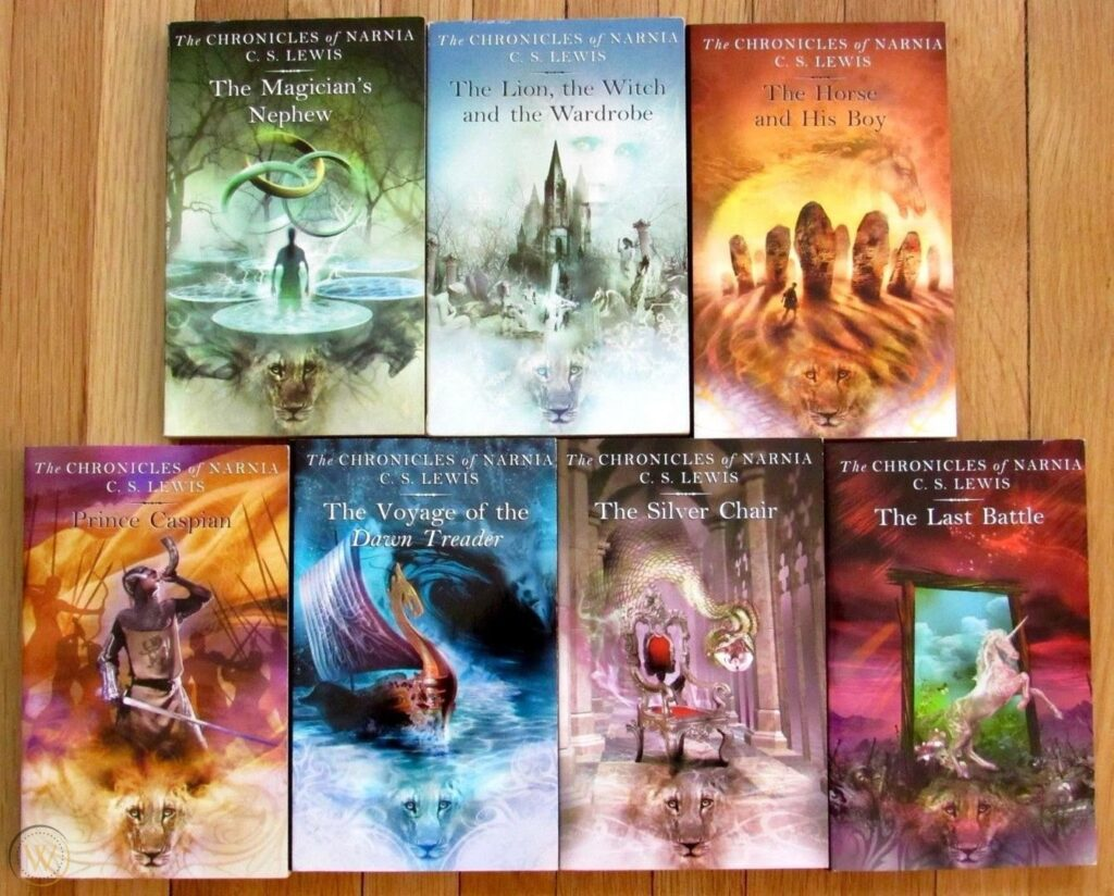 The Chronicles of Narnia Book Series of 7