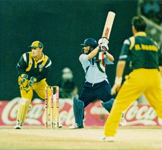 Sachin - The desert storm innings of 1998