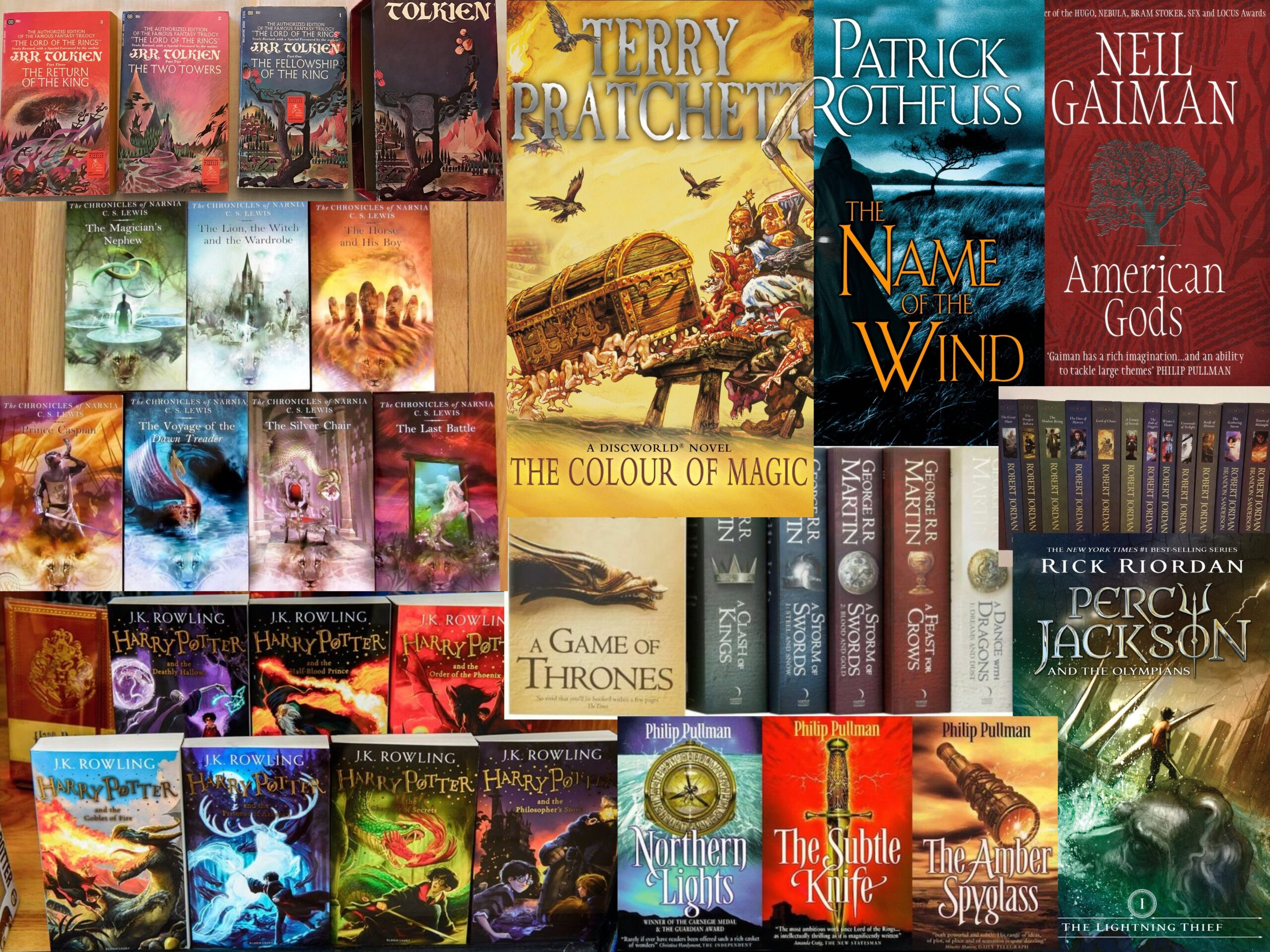Top 10 Fantasy Novels by Non-Indian Writers