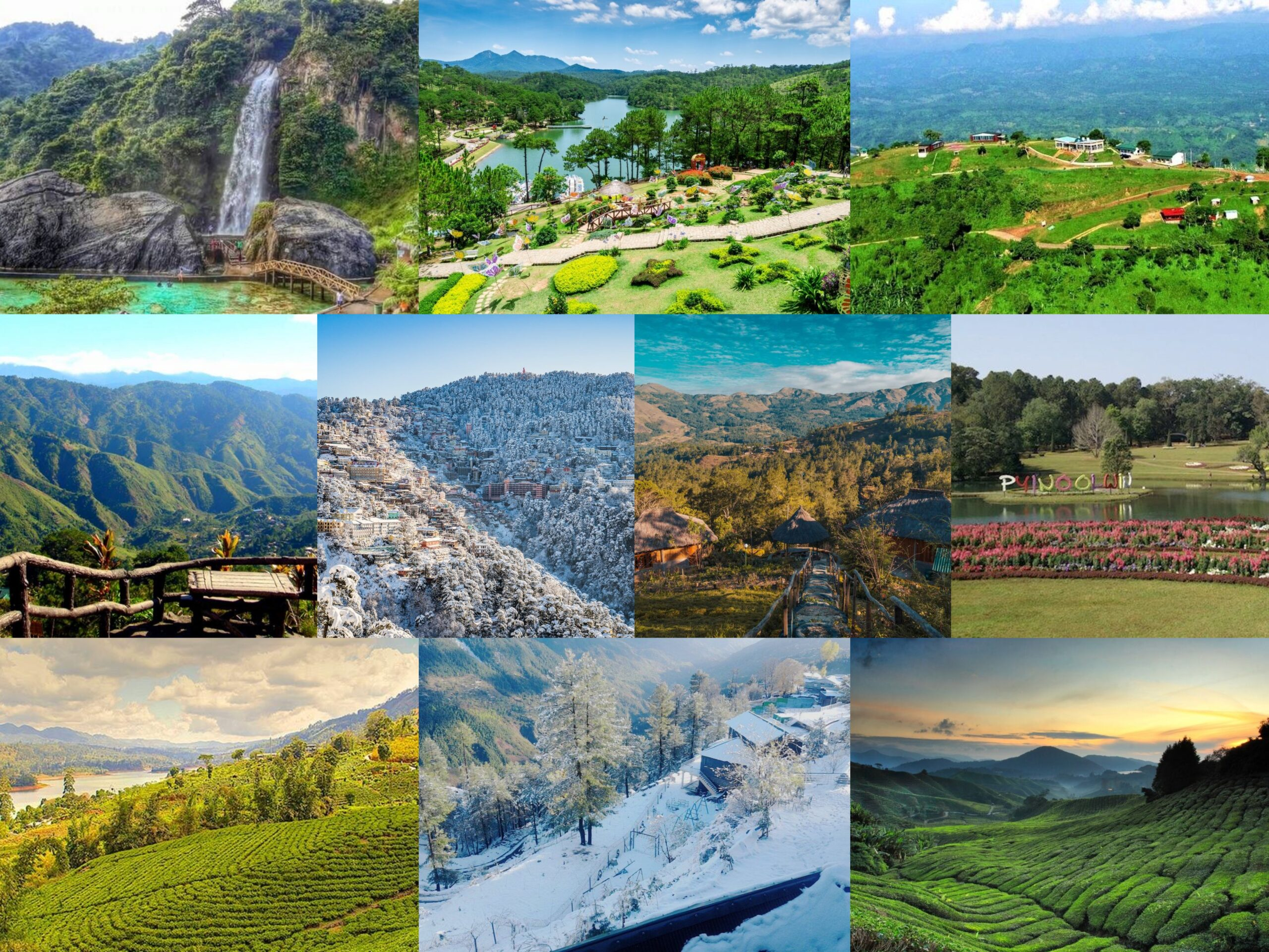 Top Ten Hill Stations in Asia
