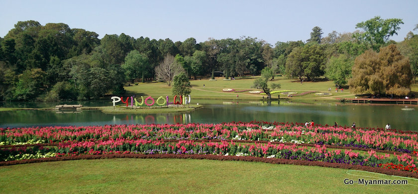 A view of Pyin O0 Lwin in Myanmar
