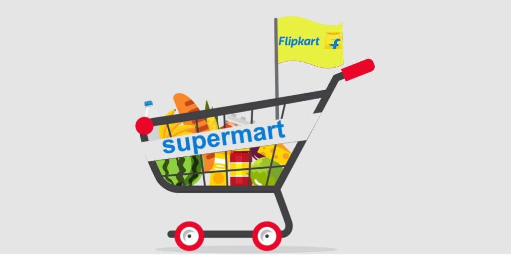 Flipkart Supermart App Image