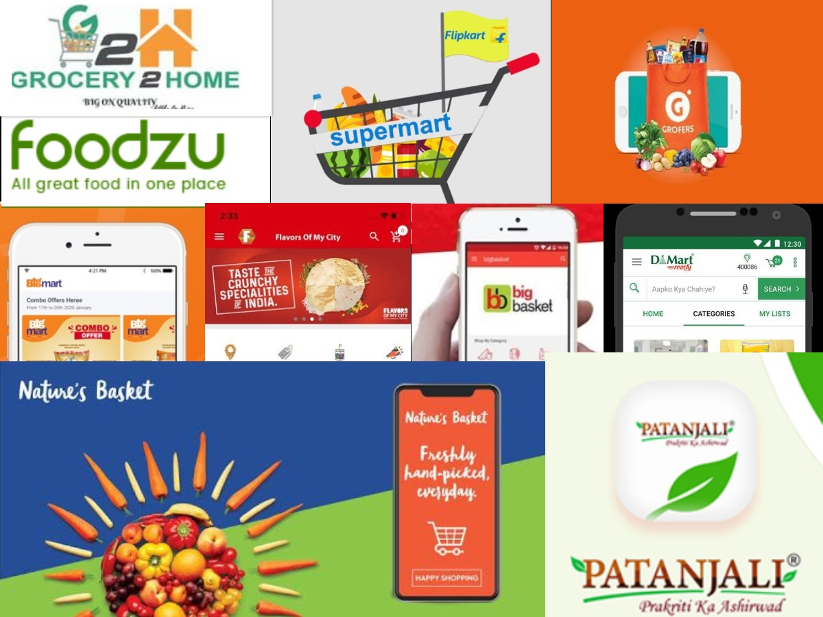 Top Ten Indian Grocery Apps
