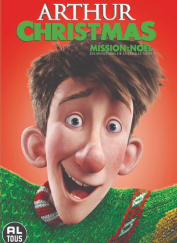 Top 10 Christmas Movies For Kids No. 10: Arthur Christmas