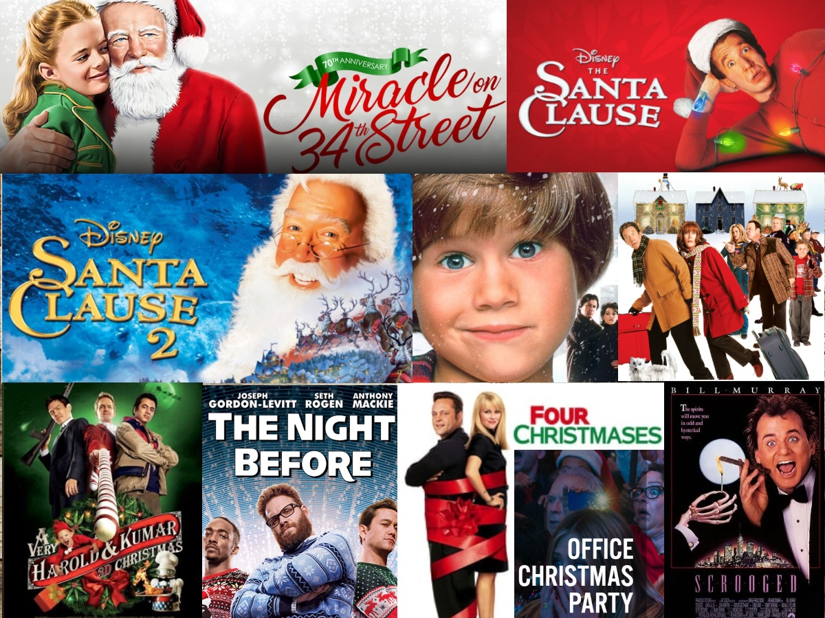 Comedy Christmas Movies