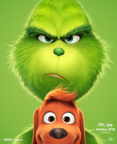 Poster of The Grinch 2018 Movie