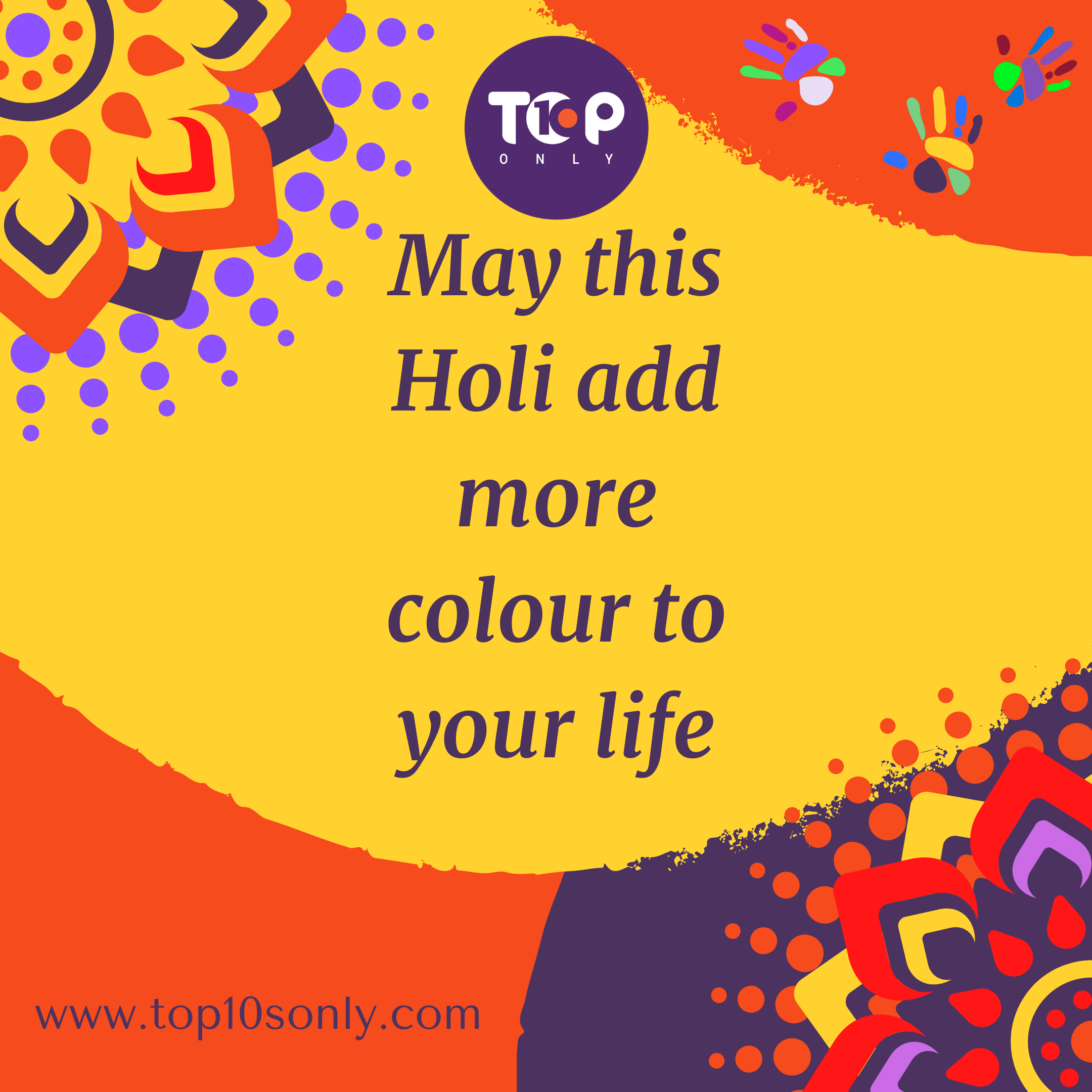 Happy Holi 2021 Best Wishes Festival of Colours From Our Family To Yours