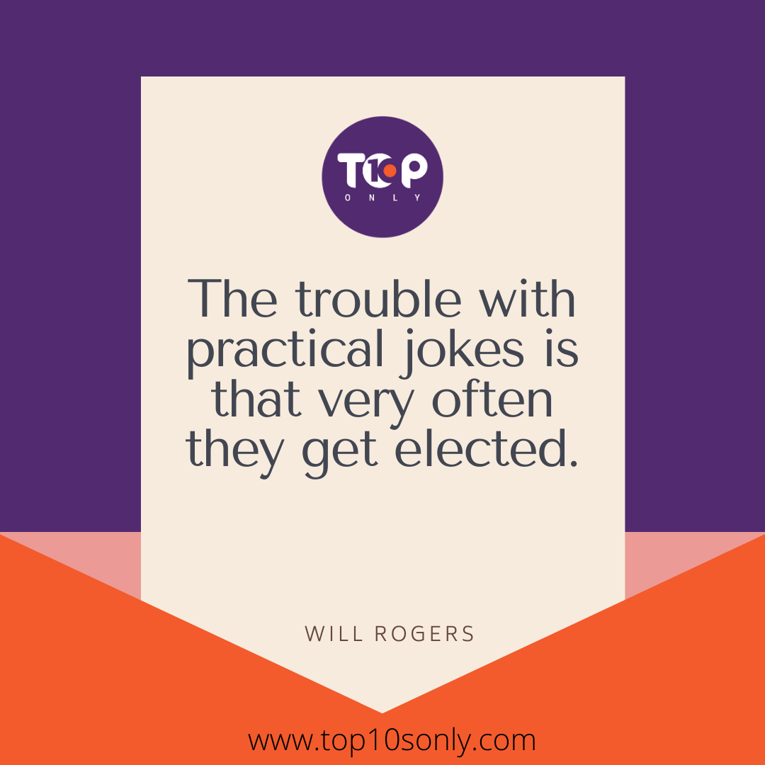 Will Rogers Quotes On Politics Politicians Elections