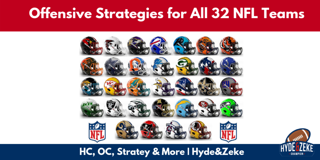 offensive coordinator strategies all nfl teams