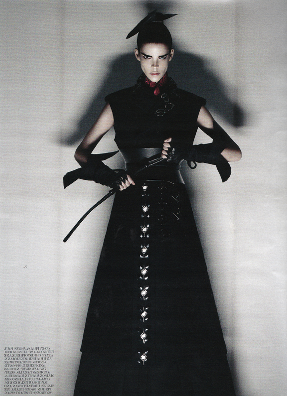 interview magazine ninja glove
