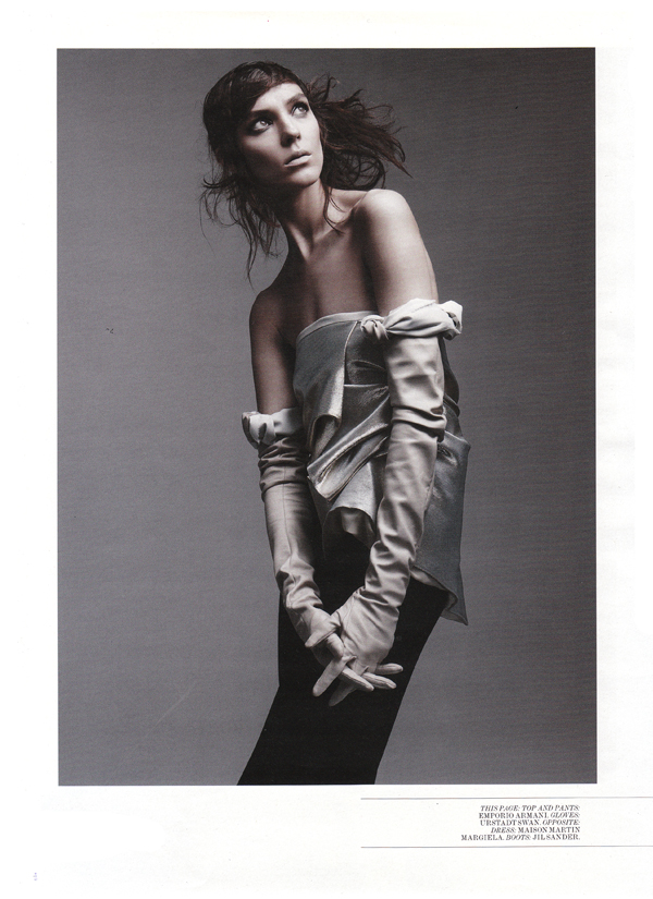 interview magazine opera gloves