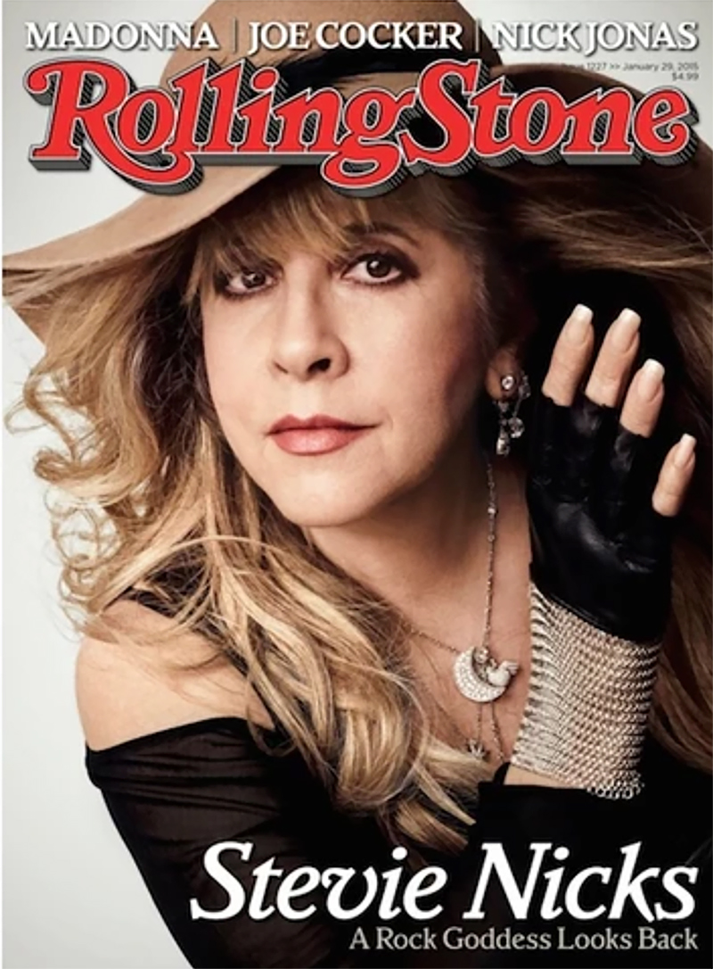 stevie nicks rolling stones magazine