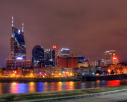 Nashville at Night