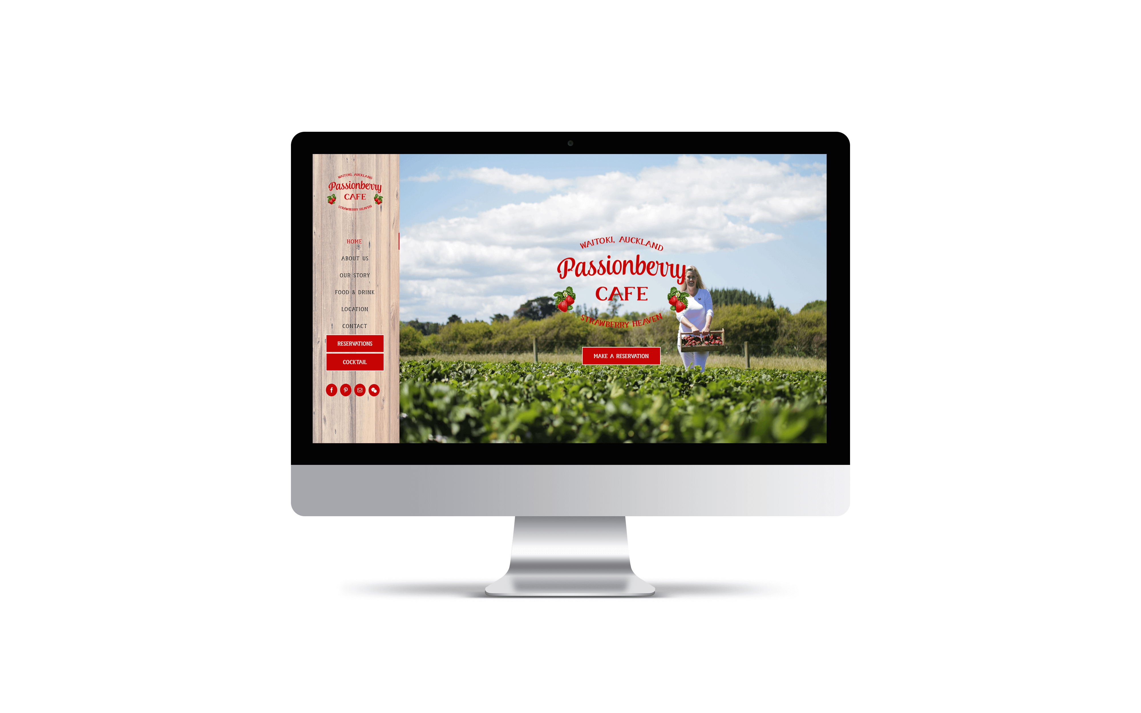 Website: Passionberry Cafe