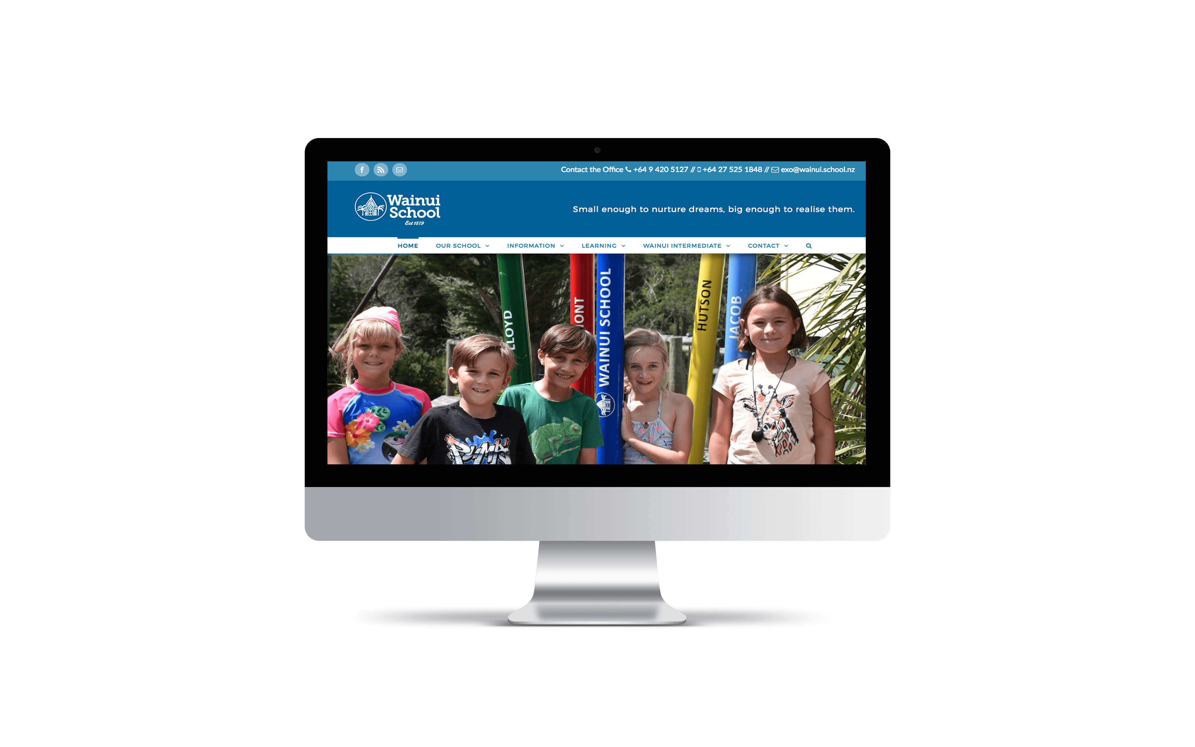 Website: Wainui School