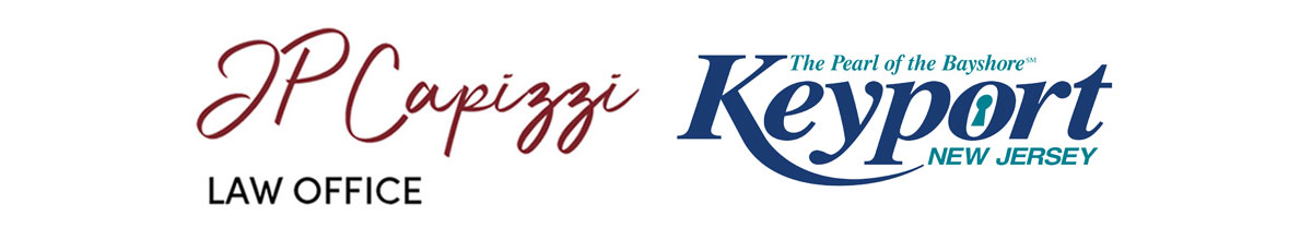 JP Capizzi logo and Borough of Keyport Logo