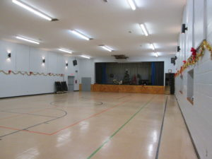 KCC Gymnasium Stage View