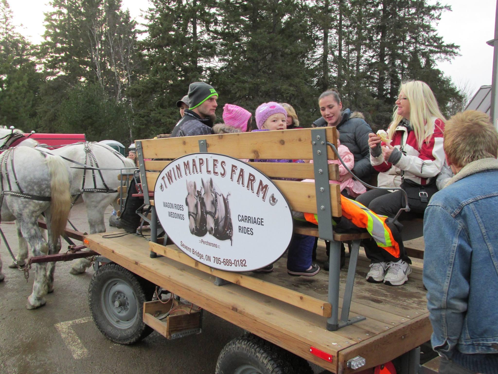 Christmas Begins in Kearney 2018 Wagon Rides