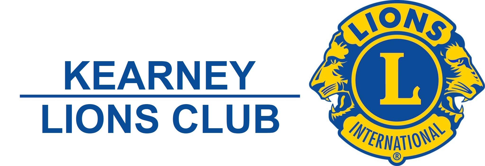 Kearney Lions Club Header
