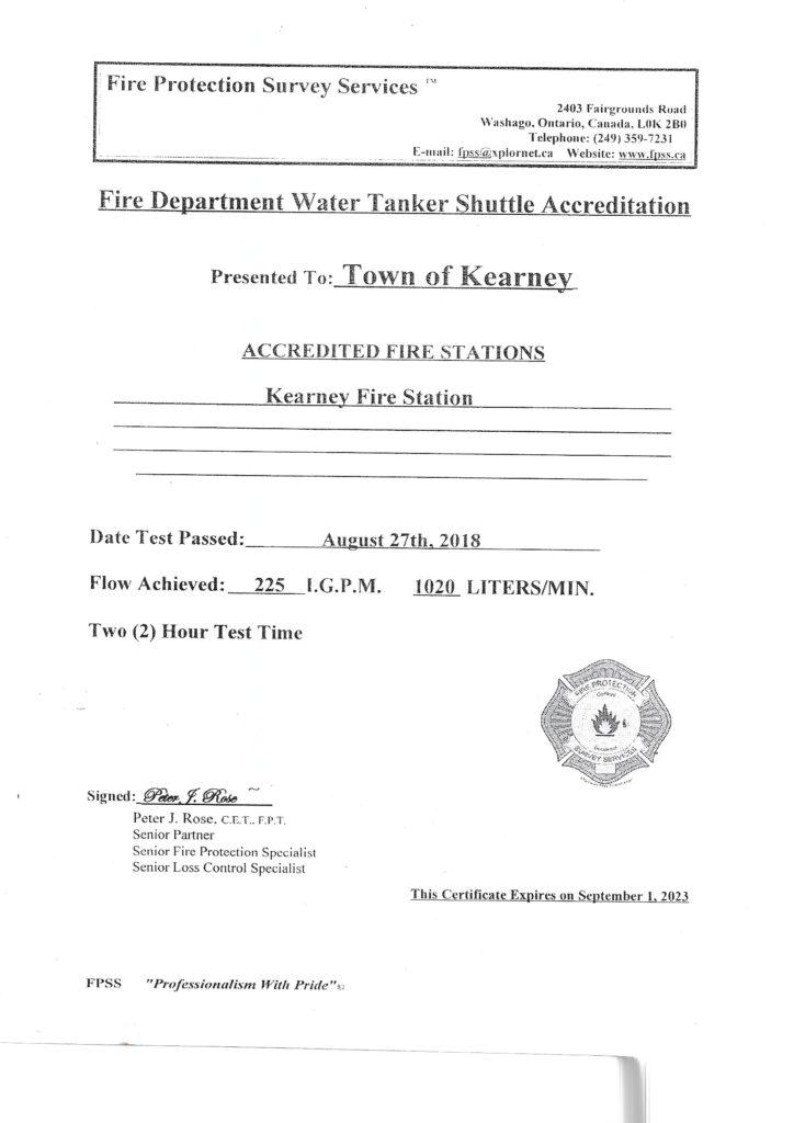 Fire Station Accreditation