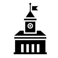 Link Graphic of a Town Hall Building